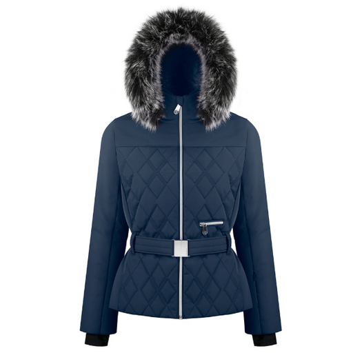 Ladies W19 1003 WO/A Ski Jacket - Poivre Blanc