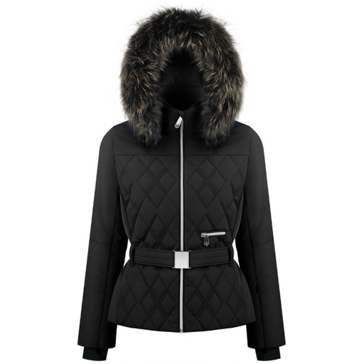 Ladies W19 1003 WO/B Ski Jacket - Poivre Blanc