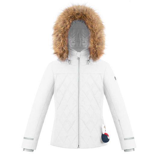 Kids W19 1003 Junior Girls /A Ski Jacket - Poivre Blanc - Poivre Blanc