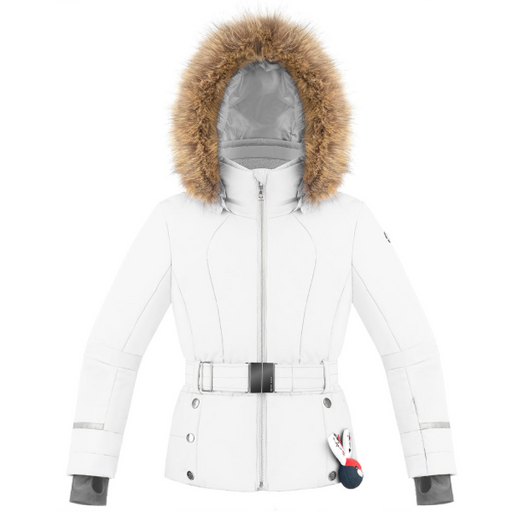 Kids W19 1008 Junior Girls /A Ski Jacket - Poivre Blanc - Poivre Blanc