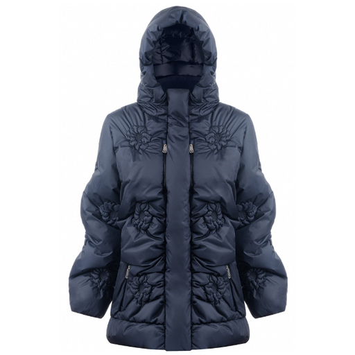 Ladies W19 1202 WO Padded Jacket - Poivre Blanc