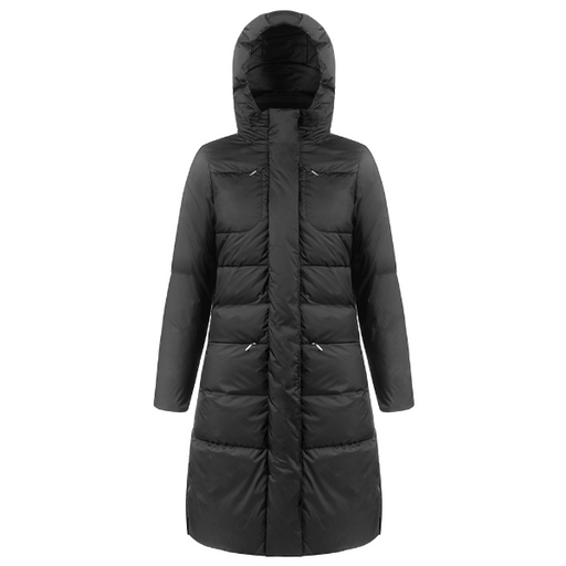 Ladies W19 1207 Womans Down Ski Coat - Poivre Blanc - Poivre Blanc