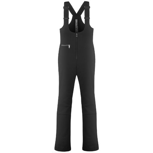 Ladies W19 0824 WO Stretch Ski Bib Pants - Poivre Blanc