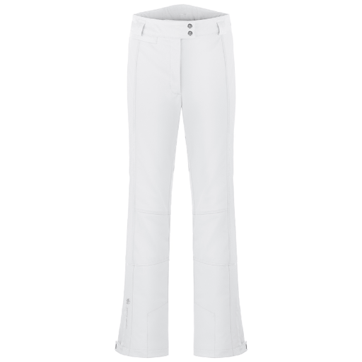 Ladies W19 0820 WO/C Stretch Short Ski Pants - Poivre Blanc