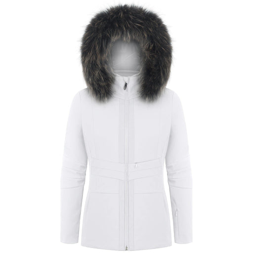 Ladies W18 0803 WO/B Stretch Jacket - Poivre Blanc