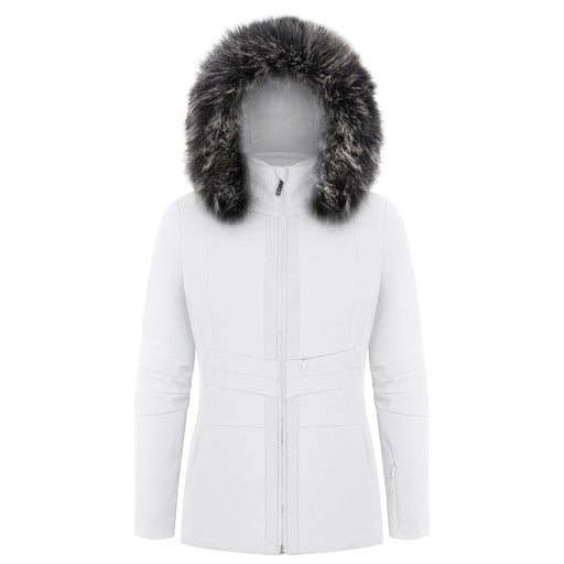 Ladies W18 0803 Womans /A Stretch Jacket - Poivre Blanc - Poivre Blanc