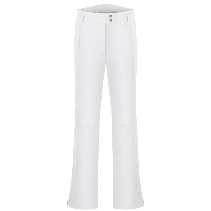 Ladies W18 0820 Womans /A Stretch Pants - Poivre Blanc - Poivre Blanc