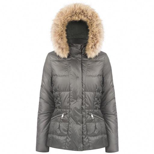 Ladies W18 1201 Womans /A Down Jacket - Poivre Blanc - Poivre Blanc