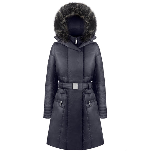 Ladies W18 1207 Womans /A Down Coat - Poivre Blanc - Poivre Blanc