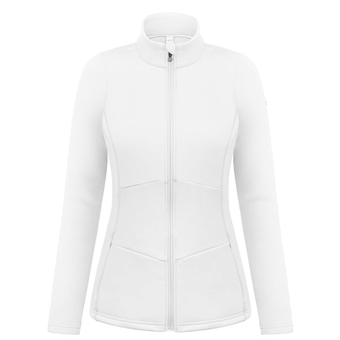 Ladies W19 1701 Womans Stretch Fleece Jacket - Poivre Blanc - Poivre Blanc