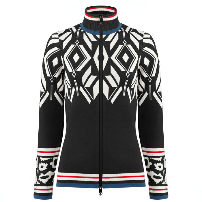 Graphic Knit Jacket W20-3501-WO - 279556 - Poivre Blanc