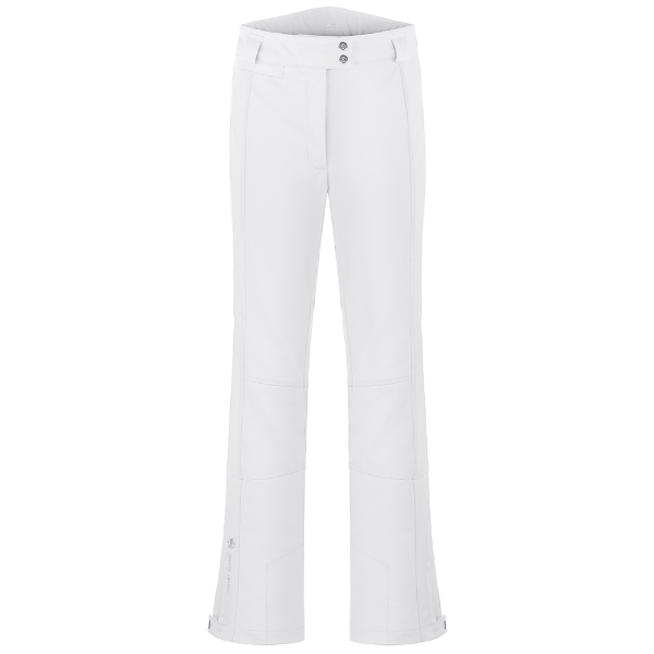 Ladies W19 0820 WO/A Stretch Ski Pants - Poivre Blanc
