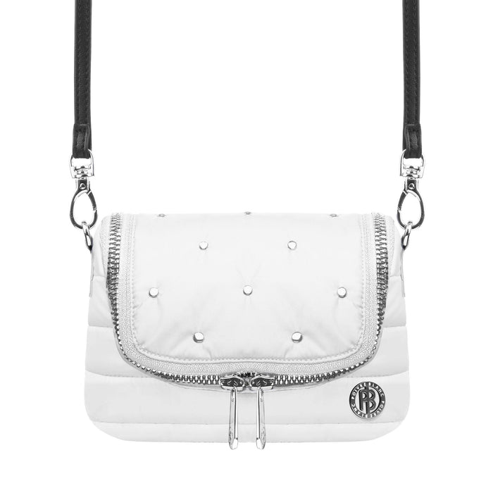 Belt Bag with Rivets W20-9096-Womans - 279674 - Poivre Blanc - Poivre Blanc