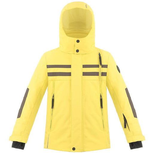 Kids W18 0900 Junior Boys Ski Jacket - Poivre Blanc - Poivre Blanc