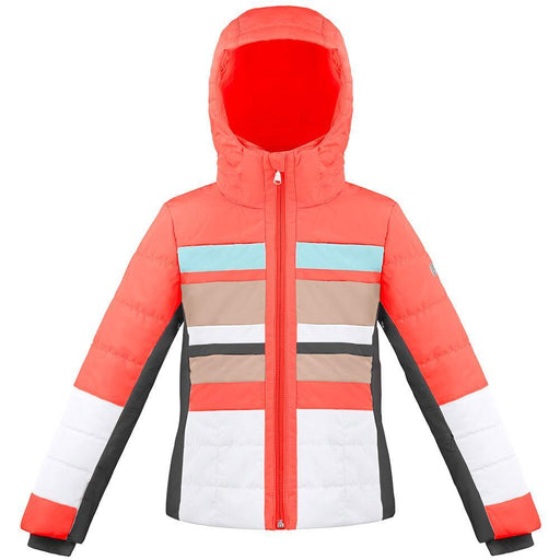 Kids W18 1004 Junior Girls Ski Jacket - Poivre Blanc - Poivre Blanc