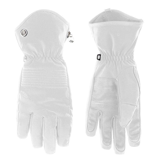 Ladies W19 0870 Womans Stretch Ski Gloves - Poivre Blanc - Poivre Blanc