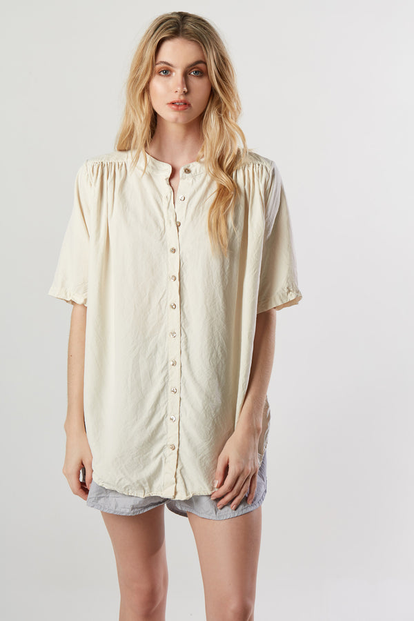 OTTO SHIRT - CREAMY - SIZE 1 LEFT