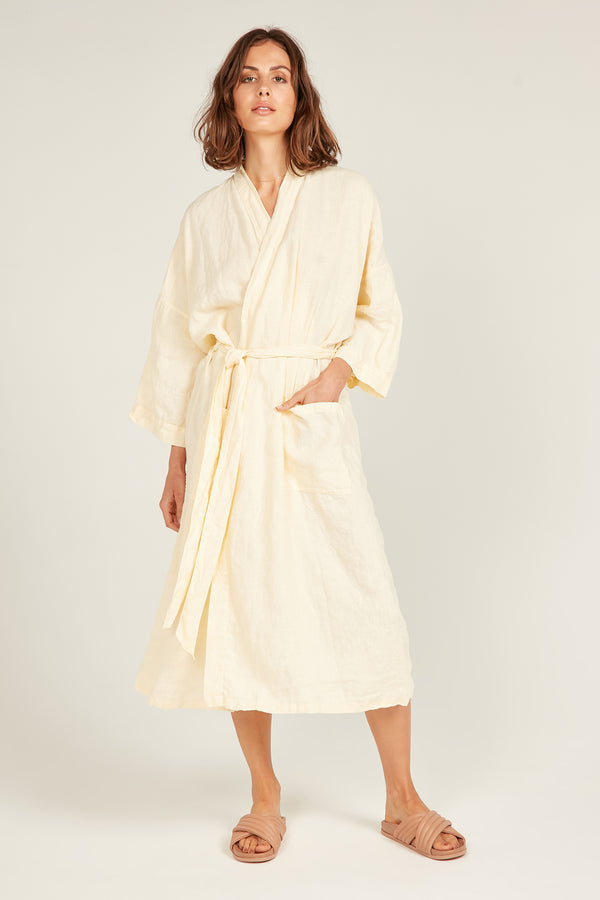 THE OCEAN ROBE - SUNFIELD YELLOW
