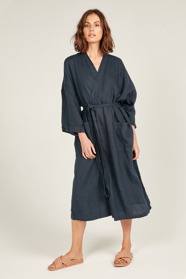 THE OCEAN ROBE - NAVY