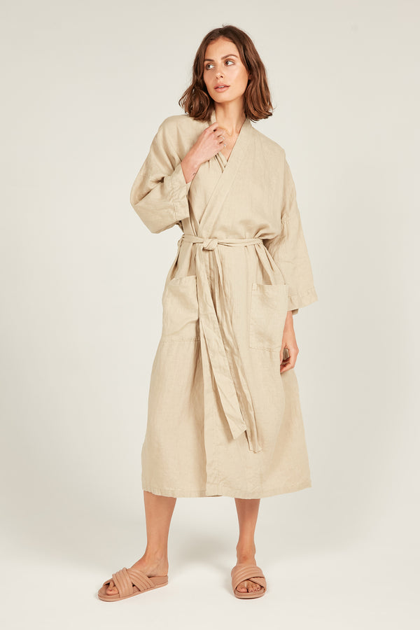 THE OCEAN ROBE - CAMEL