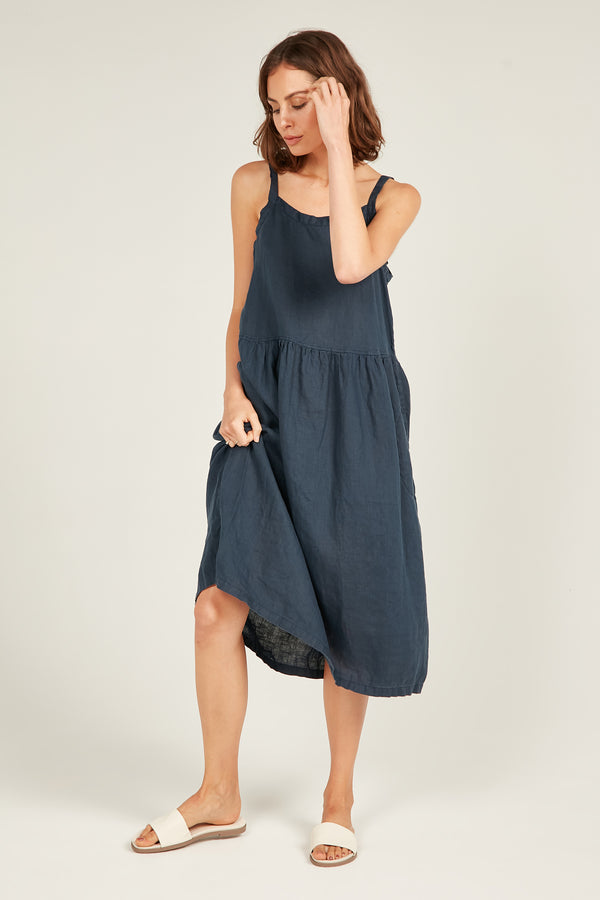 TIPA DRESS - DARK NAVY (PRE-ORDER)
