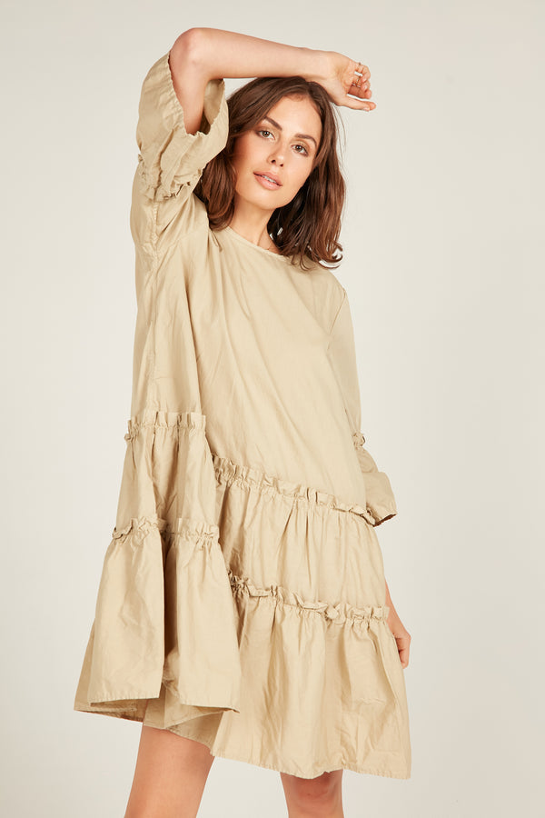 IVY DRESS - CAMEL