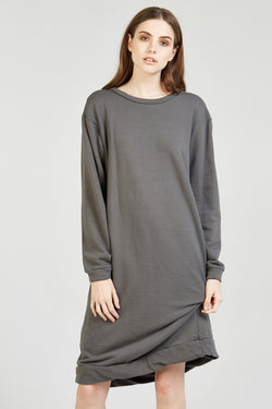 NEXTY JUMPER DRESS - WALNUT