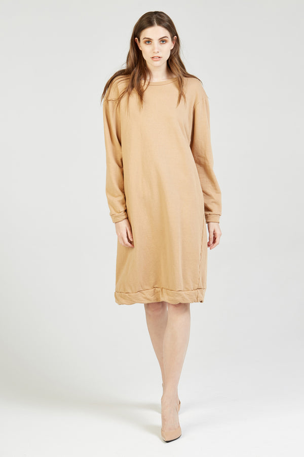 NEXTY JUMPER DRESS - CLAY