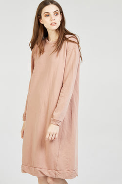 NEXTY JUMPER DRESS - ROSEWOOD