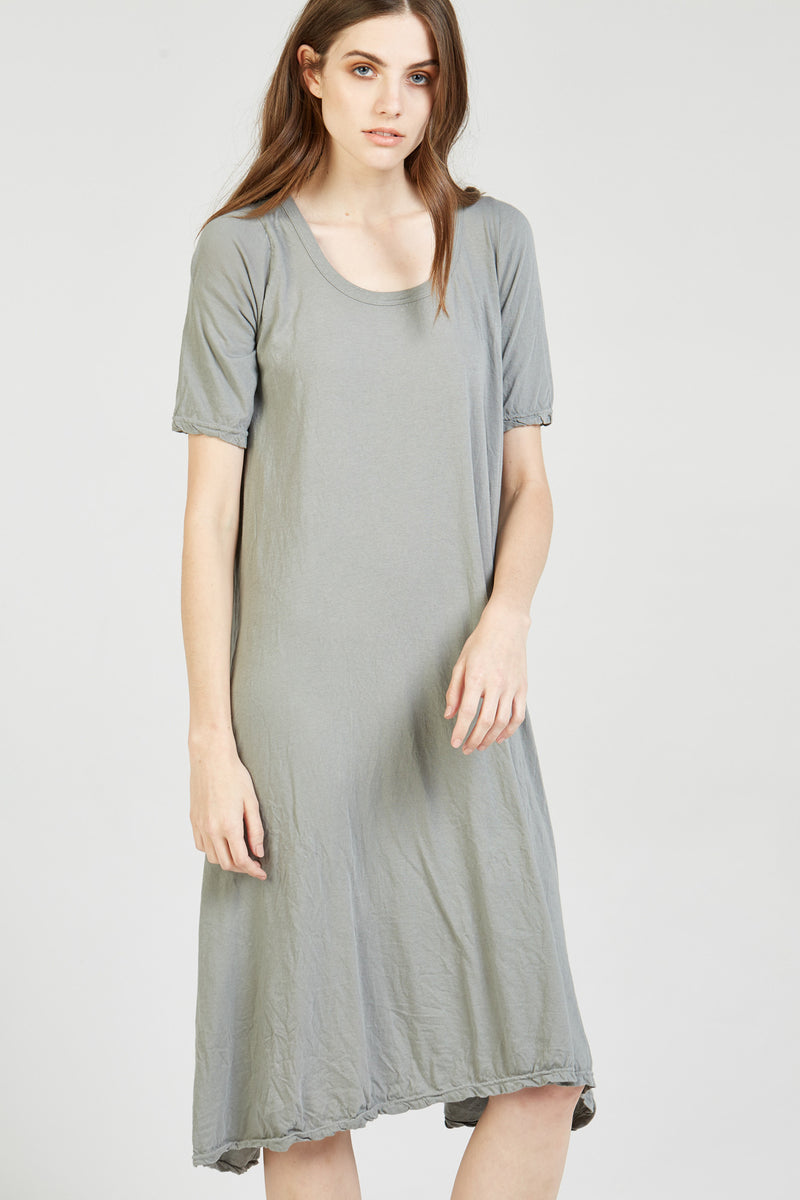 NATI DRESS - STEEL (FINAL SALE)