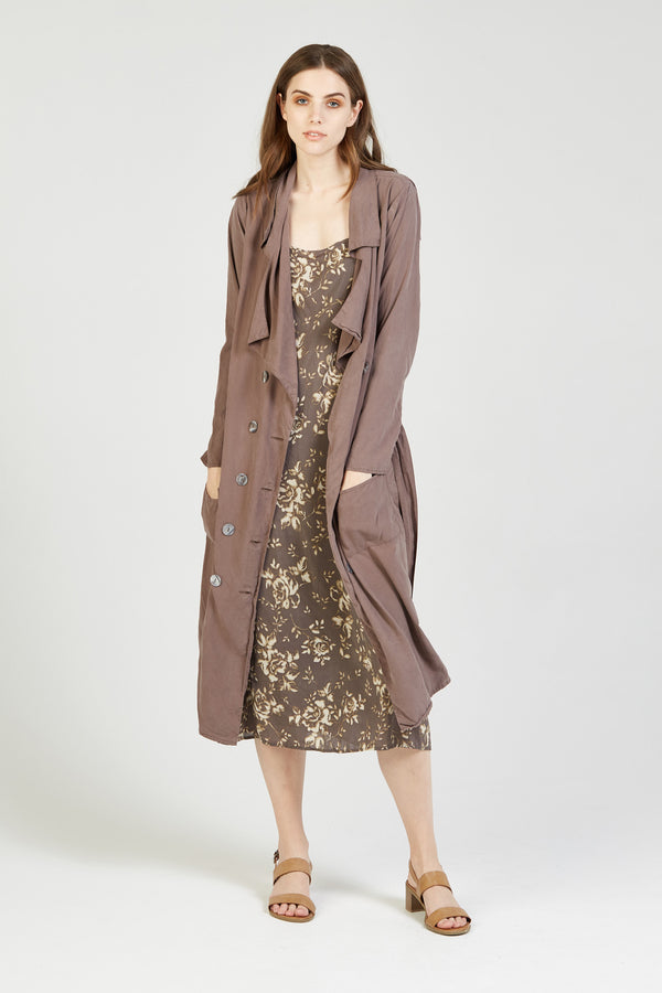 TRENCH - WALNUT - SIZE 1 LEFT