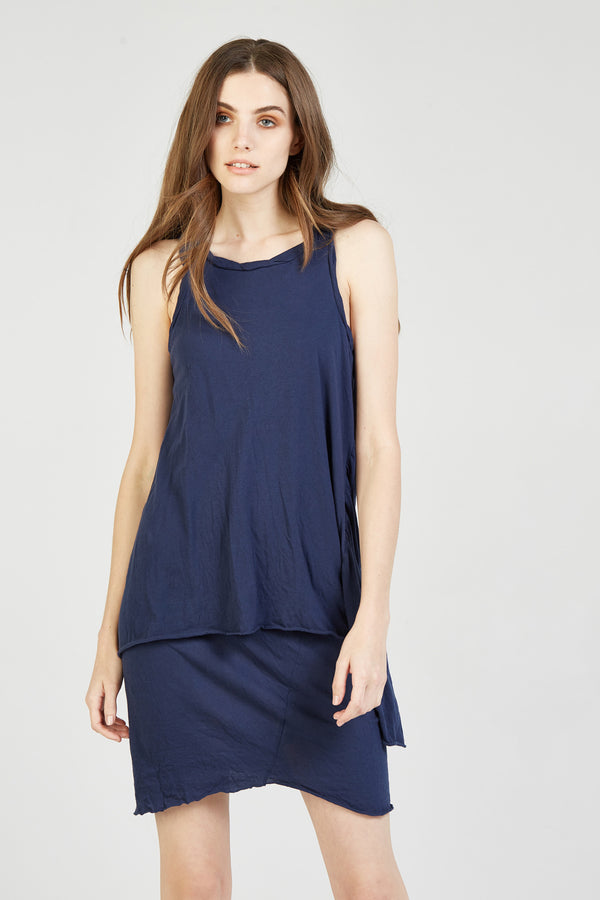 DECON DRESS - NAVY - SIZE 1 LEFT