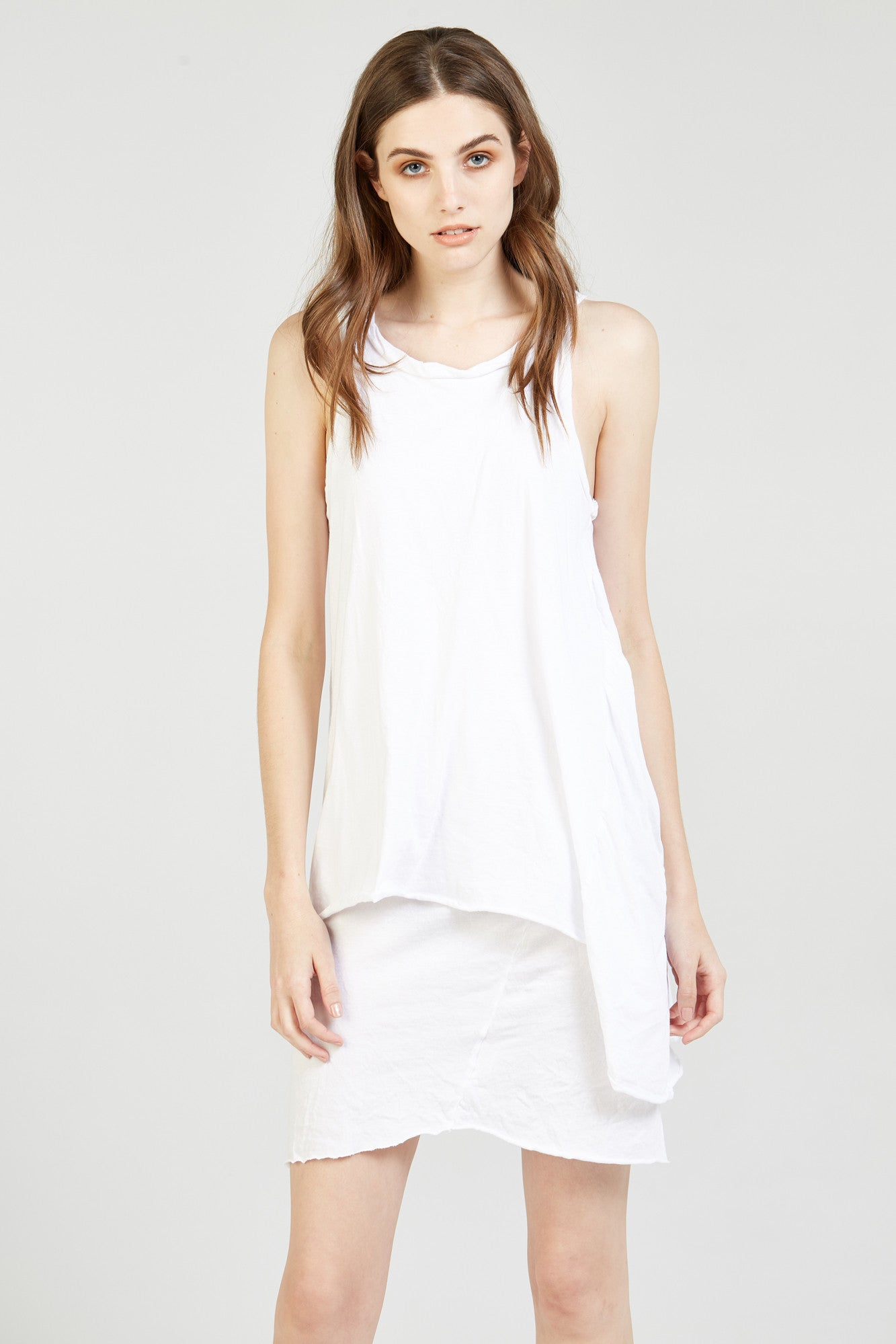 DECON DRESS - BLANC