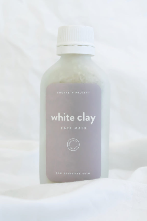 COURTNEY + THE BABES - WHITE CLAY MASK
