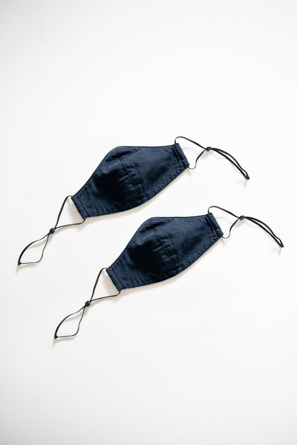 Reusable Face Mask - Two Pack - Navy