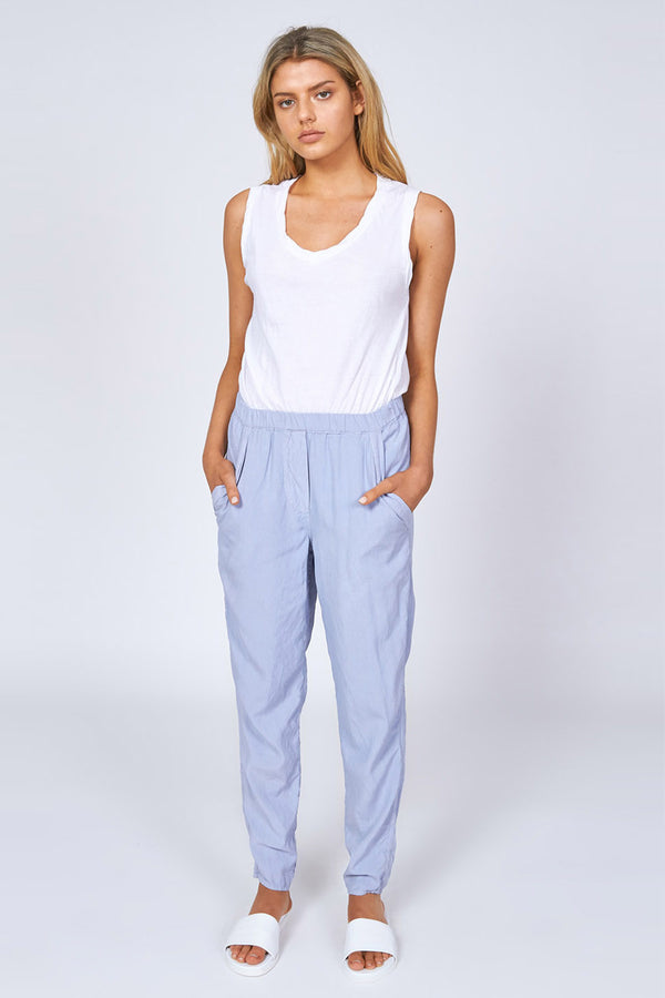 WISHY PANT - POWDER BLUE - SIZE 3 LEFT