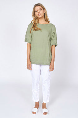 KINDRED TEE - PALM GREEN
