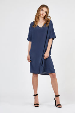 BEB DRESS - WASHED NAVY