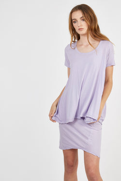 QUOET TEE - LILAC - SIZE 1 LEFT