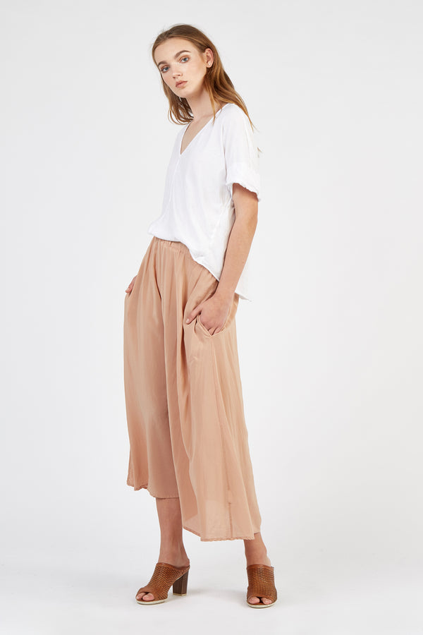 PIA FULL SKIRT - HONEY
