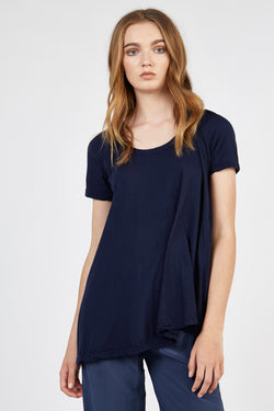 QUOET TEE - WASHED NAVY