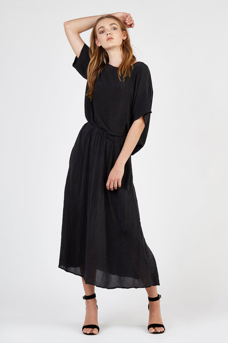 PIA FULL SKIRT - NOIR