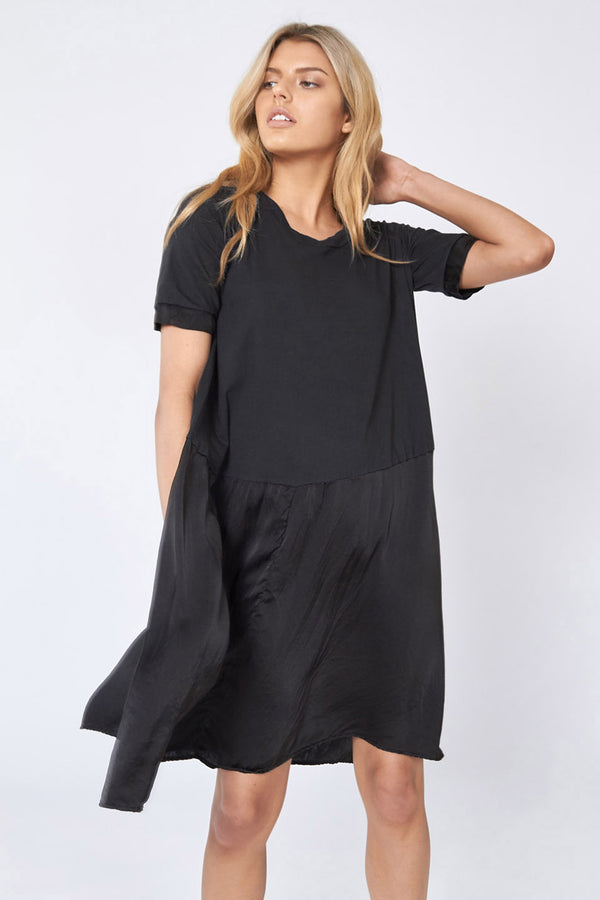 BATCH TEE DRESS - NOIR