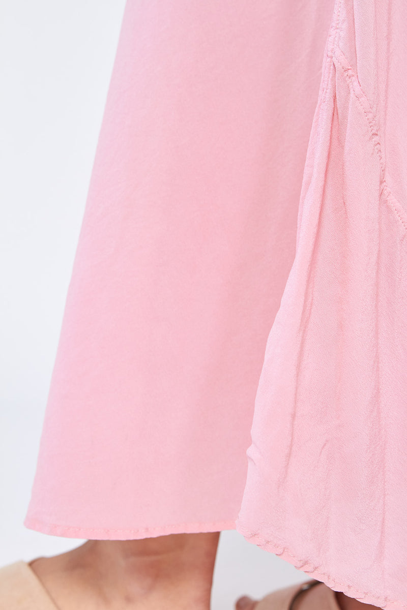 EVENING BIAS SLIP - BLUSH PINK