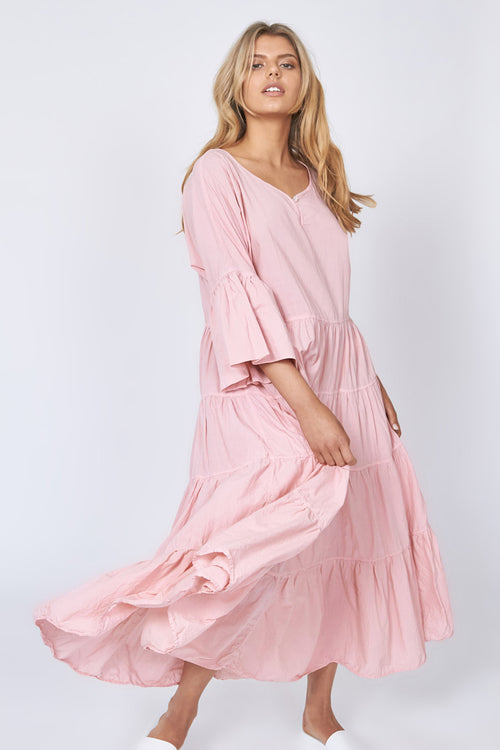 MOONSTAR DRESS - BLUSH PINK (PRE-ORDER)