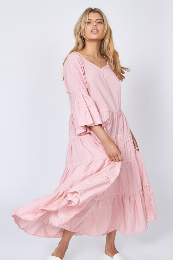 MOONSTAR DRESS - BLUSH PINK