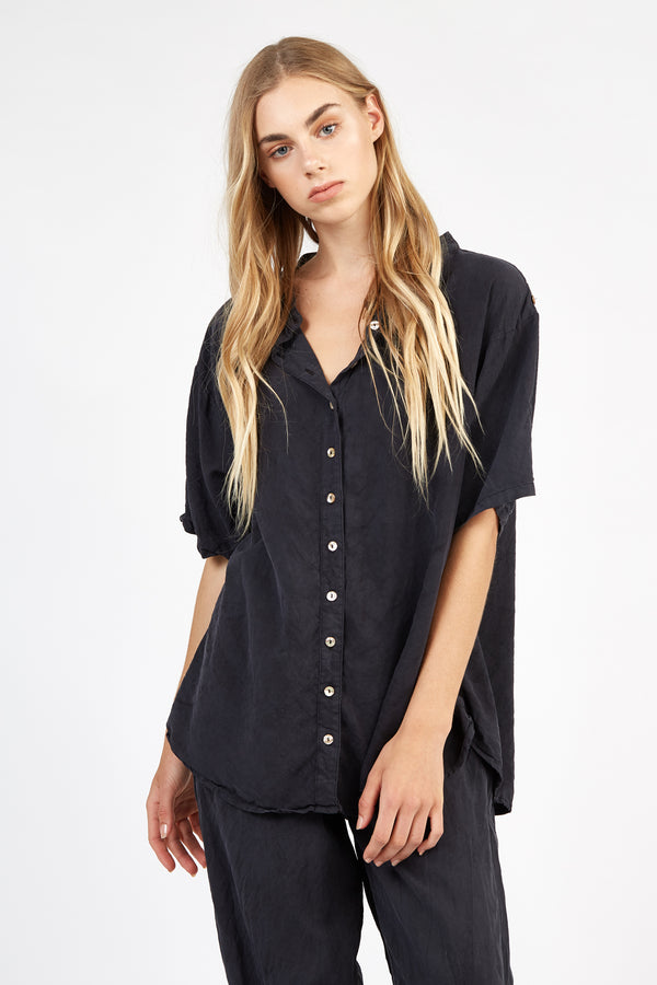 LIMMY SHIRT - NOIR - SIZE 3 LEFT