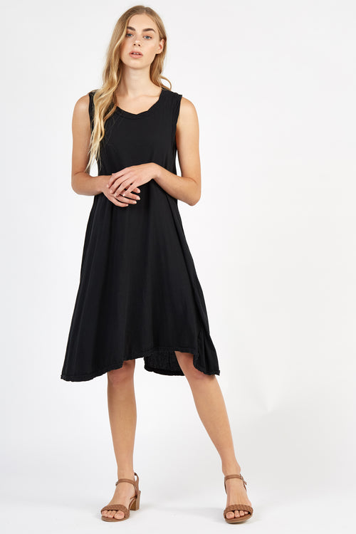 VERY TANK DRESS - NOIR