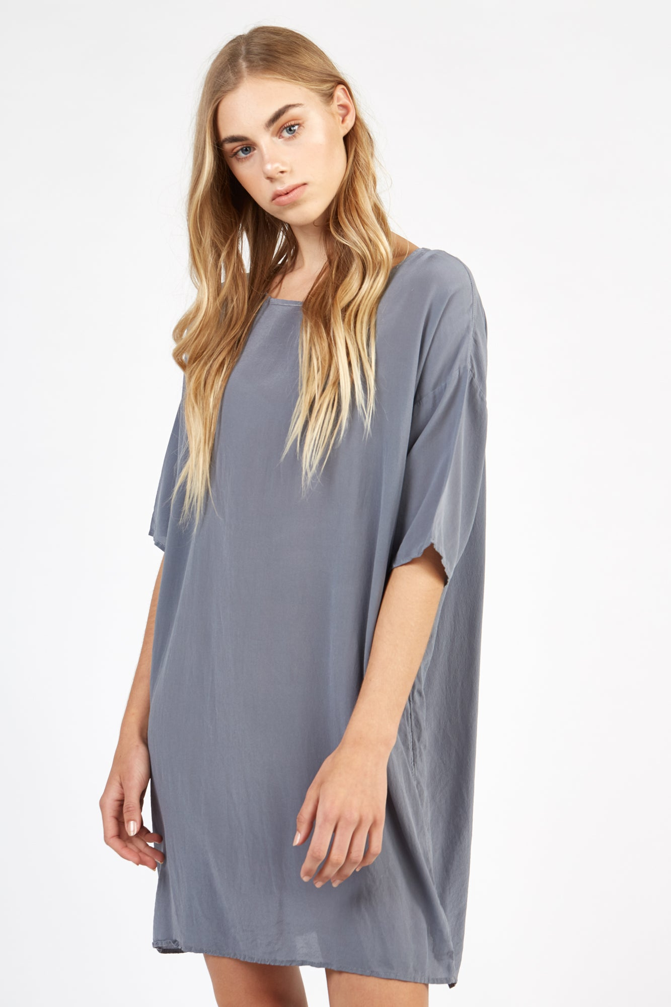 BENIC DRESS - FOSSIL GREY