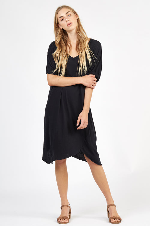 HAP TEE DRESS - NOIR